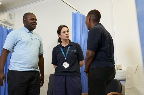 Image of 3 care workers
